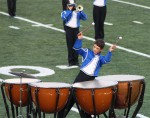 Timpani player from Les Stentors, Sherbrook, QU Canada