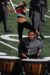 Timpani player from San Antonio Revolution